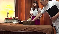 Casal and pals houseboy goes crazy in this milf
