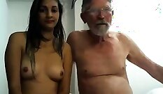 Brunette Gives BlowJob Skills to Young Jack Cock - LostFucker