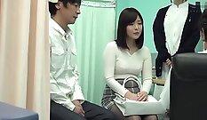 Cumming on Japanese jug Freaky Angel