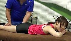 Alina Li & Mike Adriano - Japanese Massage: Spa Help