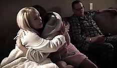Alicia Valentine in The Shugart Family movie with Chanel Bryant