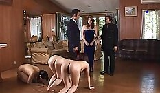 Beautiful Japanese MILF getting fucked outdoors with her new lover