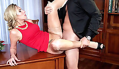 Big Natural Tits MILF Taped Getting Anal Sex - Sascha Production