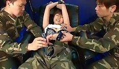 Crazy Japanese chick Yuria Hoshijima in Amazing JAV uncensored Dildos/Toys video