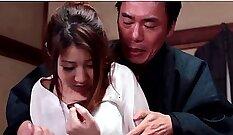 Busty Hitomi Kitagawa rough pounding