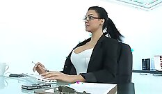 slutty milf picked up at the office and fucked