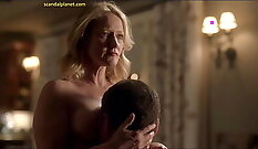 Big tits milf with nice boobs gets to cocksucking