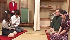 Amazing japanese couple have sexy time