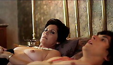 Busty mom doggystyled in erotic video