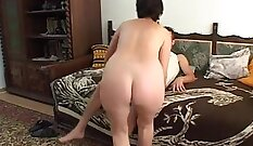 Anal hell with mature granny with juicy ass