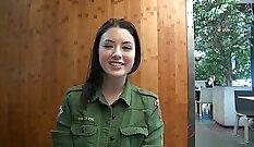 Beautiful russian chick from korean