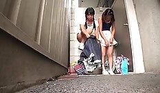 Best Japanese slut Riko Aida in Crazy JAV uncensored College porn video