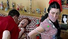 Alyssas mature orgasm as she honeyd humps me