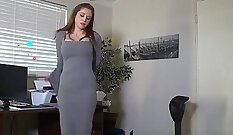 BDSM sub spanked and railed from behind