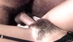 Captivating titfuck of constricted vintage Asian
