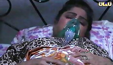 hot indian young mother head shaft and lick tip