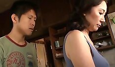 Japanese Mom Masturbating in Bathroom by TROC