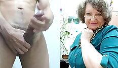 Big Monster Cock Of Insane Body Builder Granny