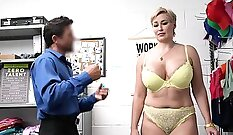Bonny MILF gets pounded good in the office