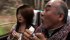 Crossdresser young asian teen babe playing