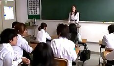 College senior cums on his teachers desk from a naughty student