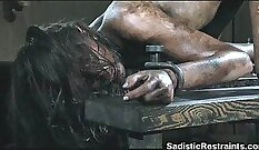 Charley gets tied up and in bondage extreme humiliation like rail