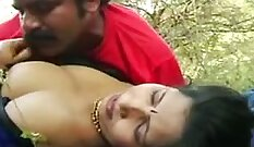 Classic scene with Indian blonde whore