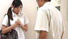 Aaliyahs new high school schoolgirl rides huge cock and gets fucked all