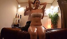 Busty wife falling in love with her stepbro