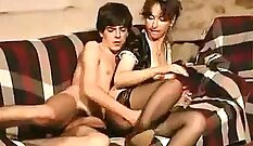 Anisa, Jackie Rotten with hot milf Alexis Winters, in classic porn...