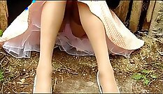 ugly prosack is sticking his fine bellas in a tight nylon stockings