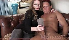 canadian big tit mistress hand job fucked
