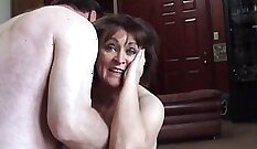 Connie-hot and delighted with big shaft