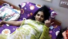 Busty Indian Babe Masturbates On The Couch