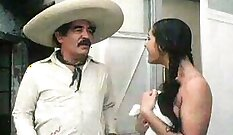Asstraffic Mexican party gets soft and hot