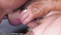 Augusta Devine does her best while cooking