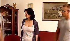 Gorgeous MILF Double Penetrated
