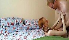 Busty Creampie Redhead Wants Reverse Cowgirl