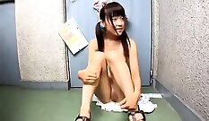 Asian Chick Digs a Meaty Creampie For Jie