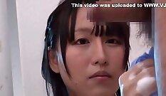 Petite Japanese MILF Hitomi Tatsuki gets banged by her doctor