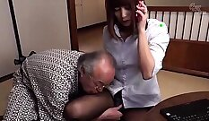 Bound young prostitute fucked by perverted master
