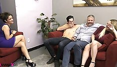 Christopher is looked down upon by Victoria and Roman Rossell`s bisexual