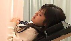 Another Ex Girlfriend Japan Celeste Giving A Muscular Nurse Blowjob