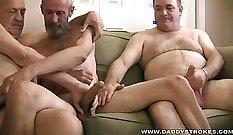 Best jerking orgasm Easing Daddys Tension