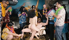 Bdsm gangbang party xxx Frannkie heads down the Hersey highway