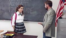 Cute Hollywood Schoolgirl Live Punishment