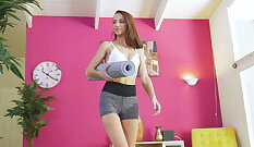 candid voyeur pretty broad skirt tinky shorts