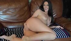 amateur slut rides dick like crazy in this porn explores her body
