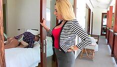 Fucking Busty Mom Mishnee with Carmi, LeilaAbella, Gabriella Amazing Slutty Chick Porn Videos