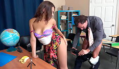 British Mom Is Trying Big Cock Anal Sex